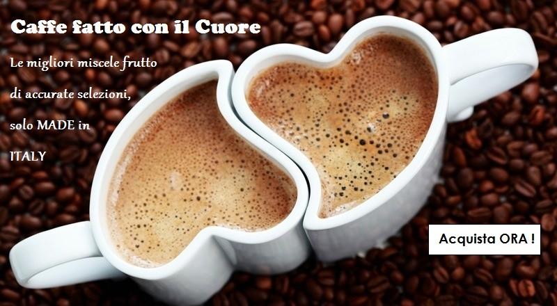 Caffè fatto con il cuore